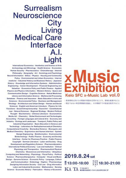 x Music Exhibition vol.0